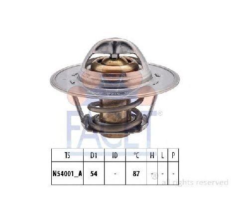 Termostat, lichid racire VW EOS ( 1F7, 1F8 ) 03/2006 - 2018 - producator FACET 7.8547S - 305457 - Piesa Noua