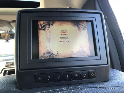 Tetiere dvd-uri originale mercedes Mercedes R320CDI r class w251 ML w164 GL320 motor 3.0