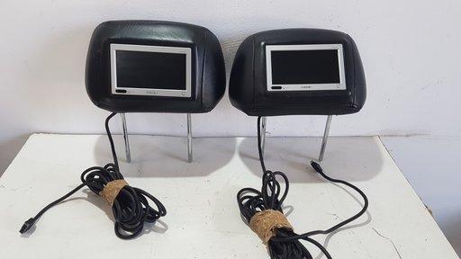 Tetiere scaune fata cu monitor SsangYong Rexton