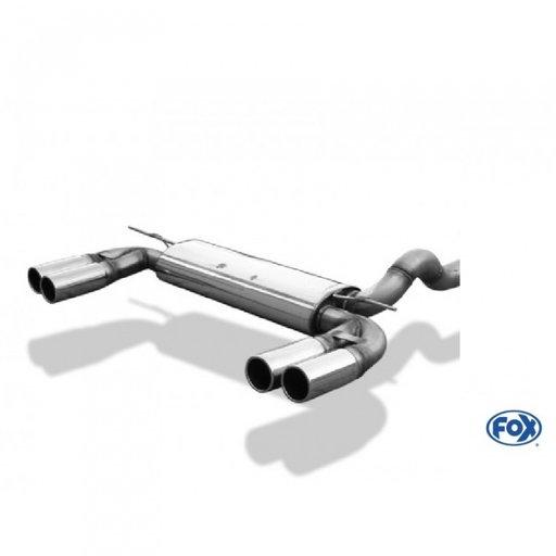 Toba sport inox Honda Civic VII type R 2,0l 147kW (EP3), dupa 2000, FOX HO013045-012