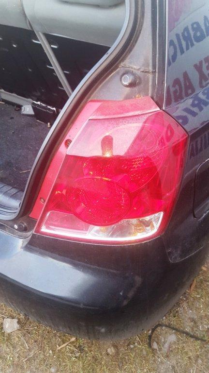 Tripla, stop dreapta spate Chevrolet Kalos - 2007 - hatchback