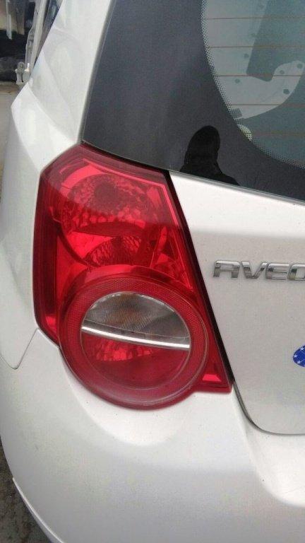 Tripla, stop stanga spate Chevrolet Aveo - 2012 - hatchback