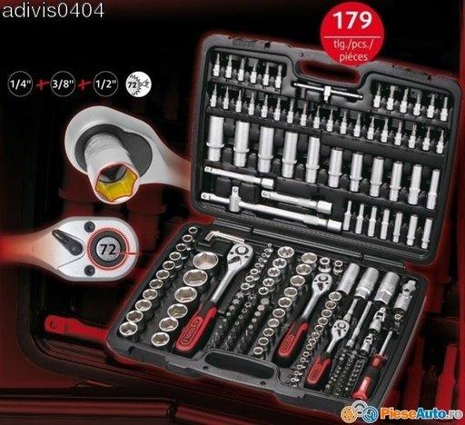 Trusa scule superlok ks tools germania 179piese