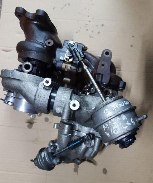 Turbina Mazda 6 2.2 D 110 kw 150 cp 2012 2013 2014 2015 2016 2017 2018 2019 cod SH01-13700
