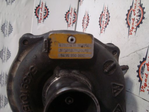Turbina Reanult / Dacia / Nissan 1.5 dci Euro 4 motor 86CP K9K 276 cod 54359700012