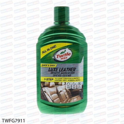 TURTLE WAX Solutie curatire+protectie piele