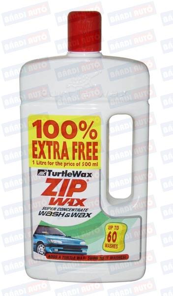 TURTLE WAX Zip Wax plus 500+500ml