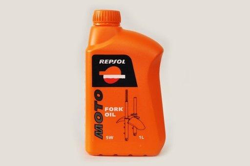 Ulei hidraulic furca suspensie moto Repsol 5W Moto Fork Oil - 1 litru