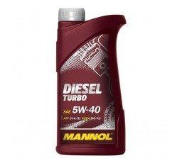 Ulei motor 5w40 - MANNOL DIESEL TURBO - 1l