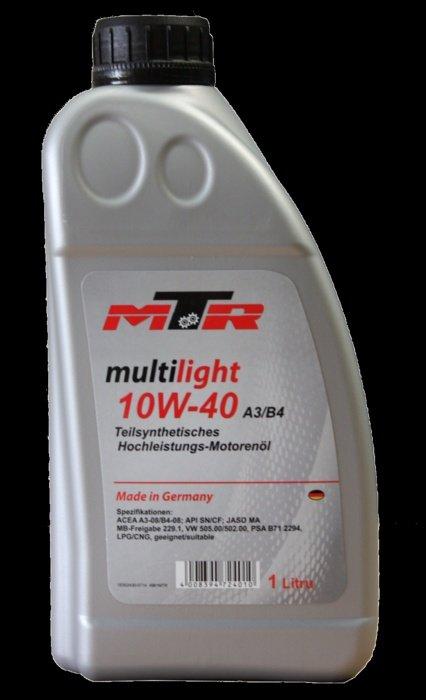 Ulei motor MTR Multilight 10W-40 1L