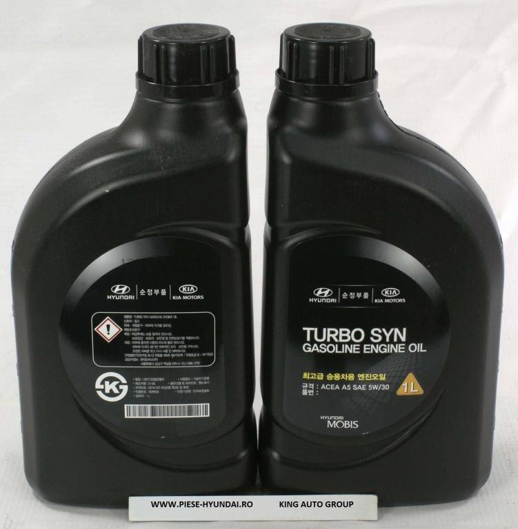 Ulei motor Original Hyundai ( motorizari benzina ) 5W-30