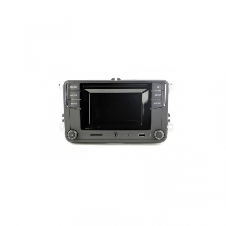 Unitate OEM RCD 330G Bluetooth SD USB Touchscreen 5 inch Mirrorlink VW  Passat golf RNS rcd 510