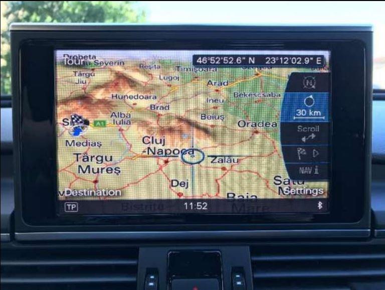 Update Harti Navigatie 2018 GPS Audi MMI 3G Plus (HDD) A4 A5 A6 A7 Q5 Q7