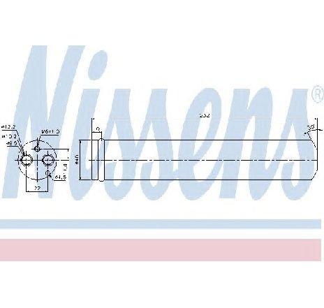 Uscator, aer conditionat MAZDA 5 ( CR19 ) 02/2005 - 2019 - piesa NOUA - producator NISSENS 95452 - 305410