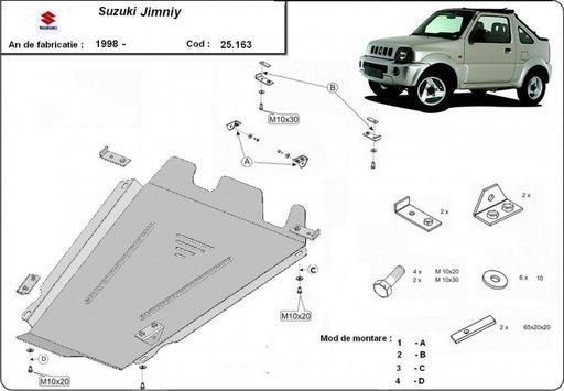VAND Scut diferential si cutie de viteze metalic Suzuki Jimny