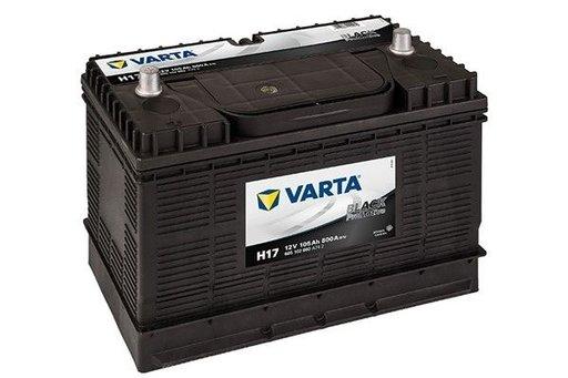 Varta promotive black 105ah/800a cu plus pe stanga