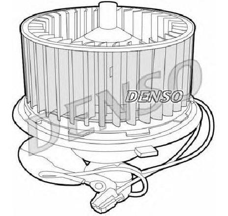 Ventilator, habitaclu VW CADDY II COMBI ( 9K9B ) 11/1995 - 01/2004 - producator DENSO DEA26001 - 305393 - Piesa Noua
