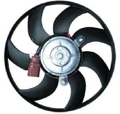 Ventilator, radiator VW POLO ( 6R, 6C ) 06/2009 - 2019 - producator NRF 47388 - 308025 - Piesa Noua