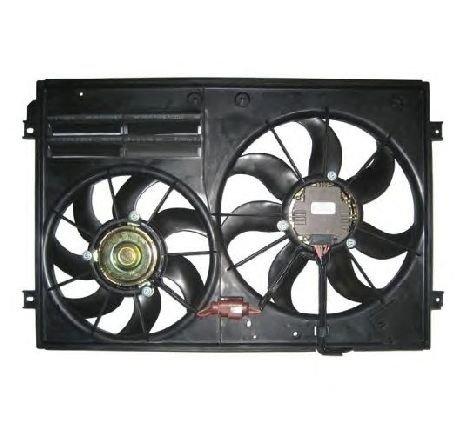 Ventilator, radiator VW POLO ( 6R, 6C ) 06/2009 - 2019 - producator NRF 47387 - 308025 - Piesa Noua