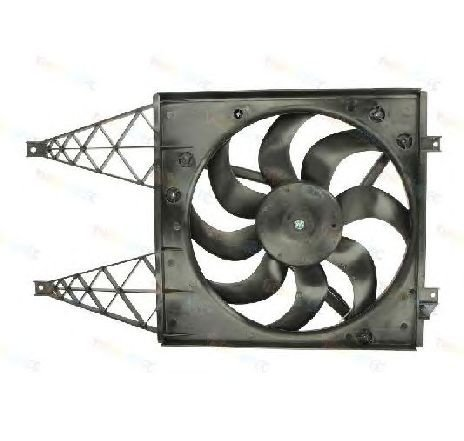 Ventilator, radiator VW POLO ( 9N ) 10/2001 - 01/2012 - producator THERMOTEC D8W028TT - 304804 - Piesa Noua