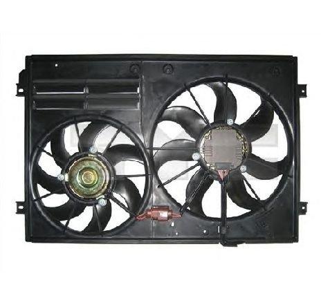 Ventilator, radiator VW SCIROCCO ( 137, 138 ) 05/2008 - 2019 - producator TYC 837-1015 - 307584 - Piesa Noua