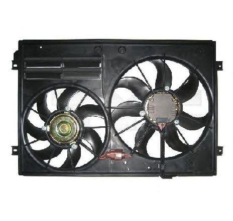 Ventilator, radiator VW SCIROCCO ( 137, 138 ) 05/2008 - 2019 - producator TYC 837-0026 - 307584 - Piesa Noua