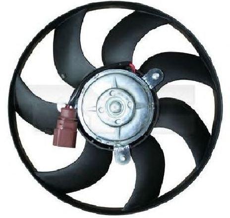 Ventilator, radiator VW SCIROCCO ( 137, 138 ) 05/2008 - 2019 - producator TYC 837-0032 - 307584 - Piesa Noua