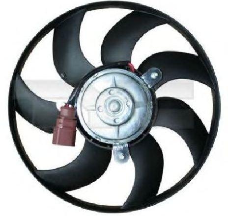 Ventilator, radiator VW SCIROCCO ( 137, 138 ) 05/2008 - 2019 - producator TYC 837-1012 - 307584 - Piesa Noua
