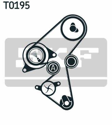 Vkma03259 kit skf germania pt citroen,peugeot,ford,volvo motorizare 1.6diesel