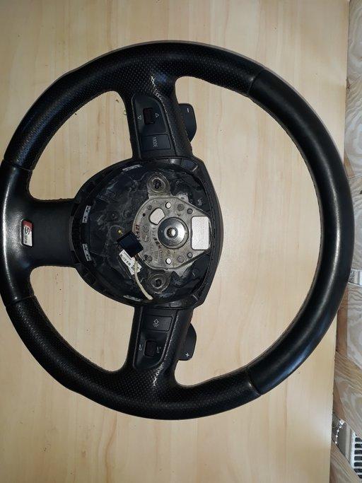 Volan cu padele S line pentru Audi A6 cod:8k0419091