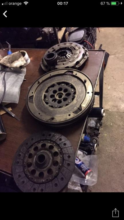Volanta+kit ambreiaj bmw e90,e91,e87 cod motor N47