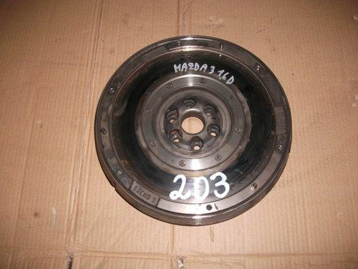 Volanta masa dubla SACHS pentru Mazda 3 1.6 diesel, cutie 5 viteze