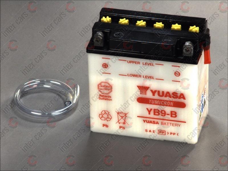 Yuasa baterie pornire Moto 9Ah 130A